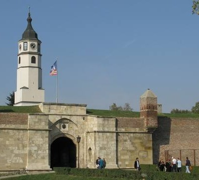 Kalemegdan - Clock tower