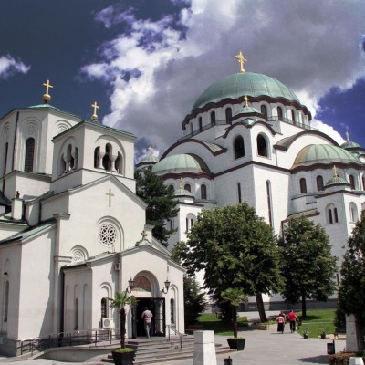 Saint Sava Church  and Saint Sava Cathedral